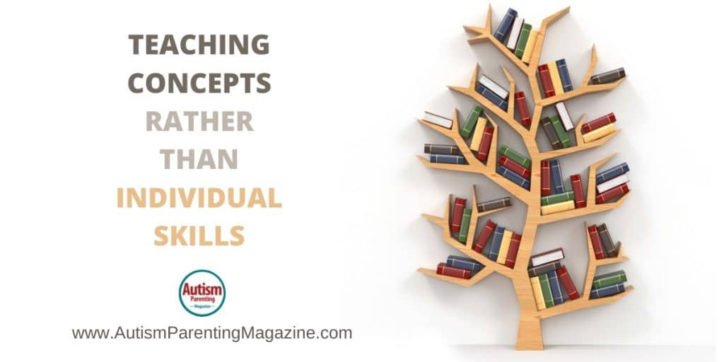 Teaching Concepts Rather Than Individual Skills