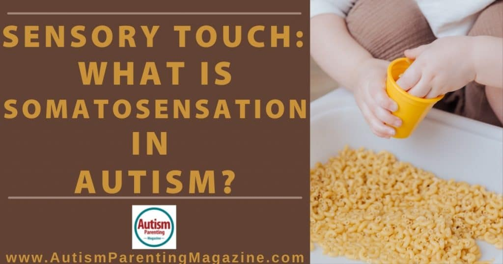 Sensory Touch: What is Somatosensation in Autism?