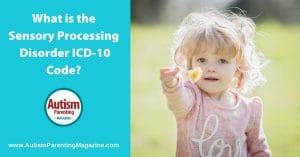 sensory processing disorders icd code